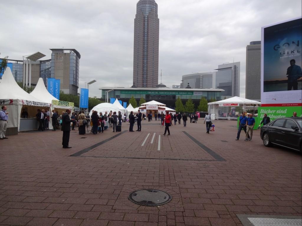 Außenbereich Frankfurter Buchmesse 2014