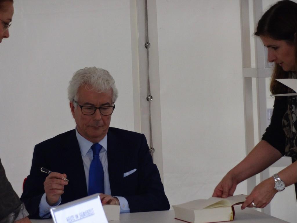 Ken Follet auf der Frankfurter Buchmesse