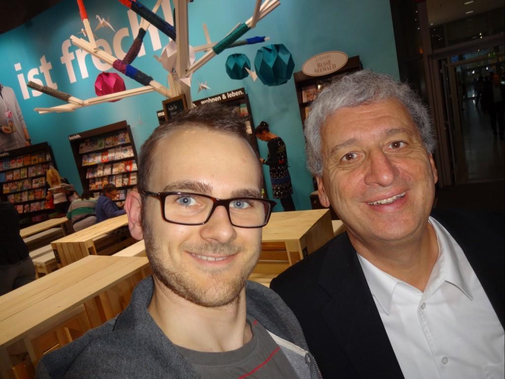 Daniel Driever und Ertay Hayit