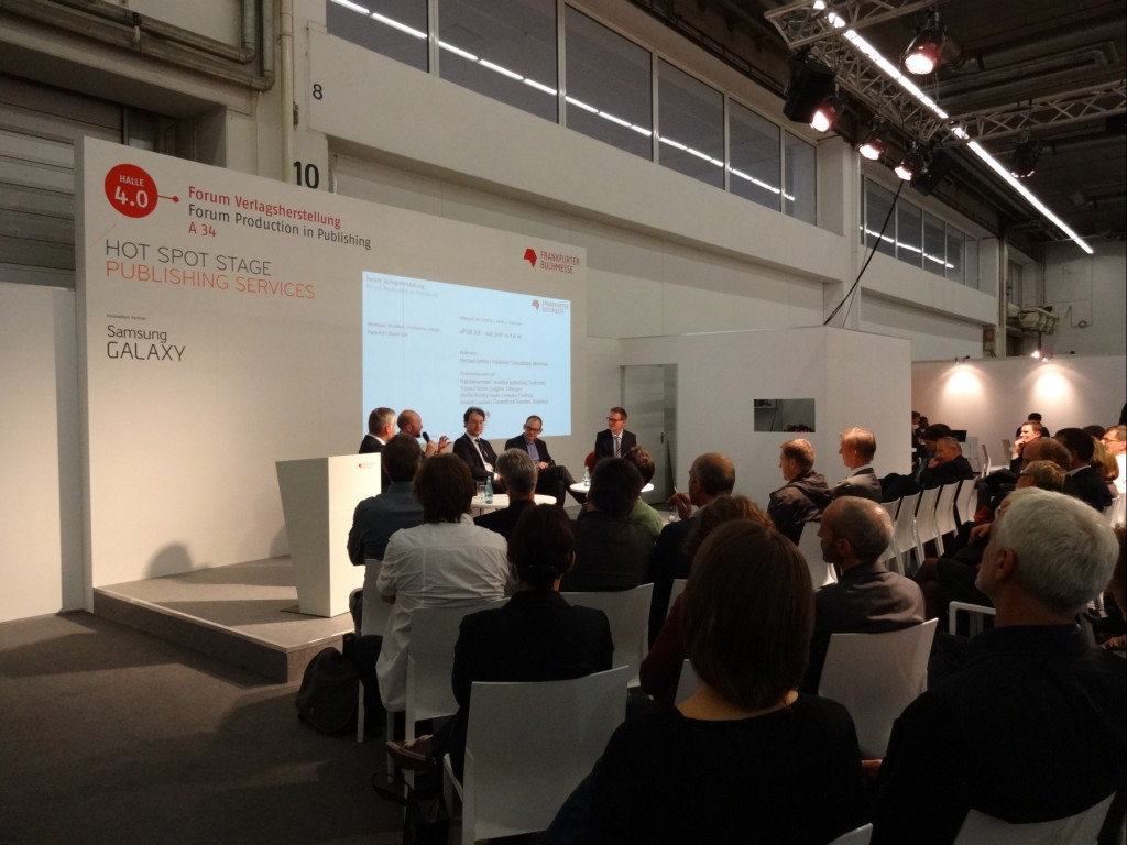 Workshop auf Buchmesse 2014