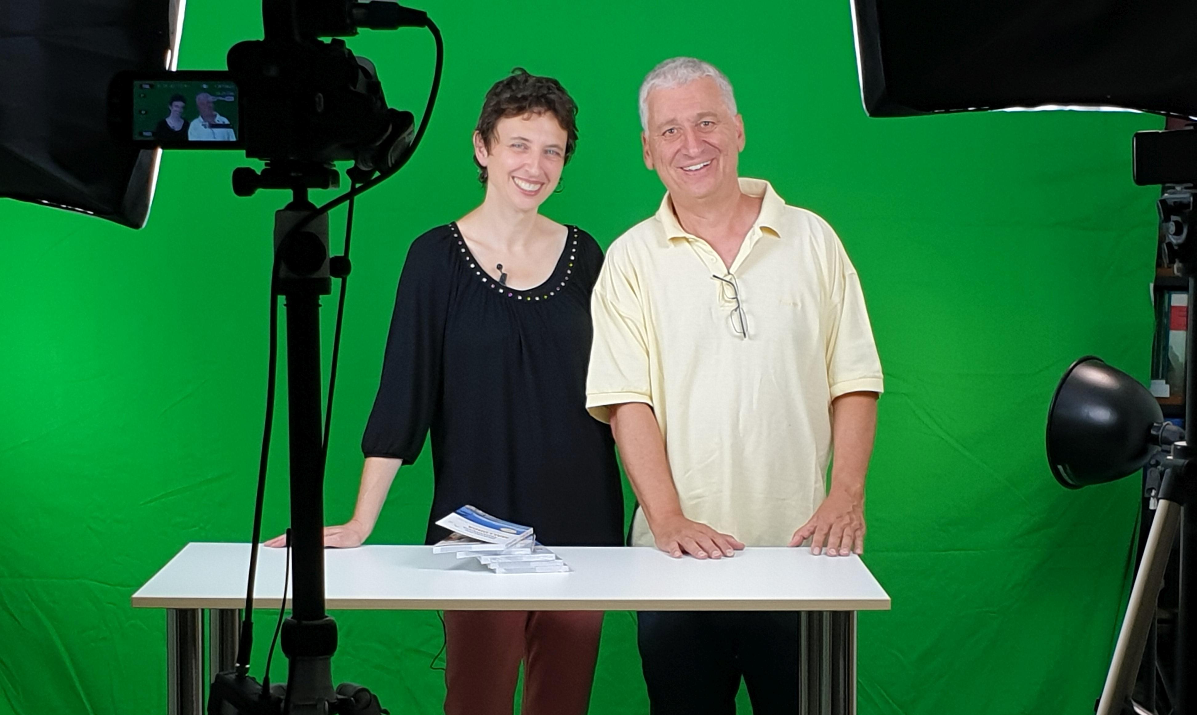 Anne Grießer und Ertay Hayit